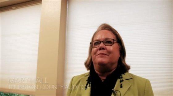 Mary Hall, Thurston County Auditor